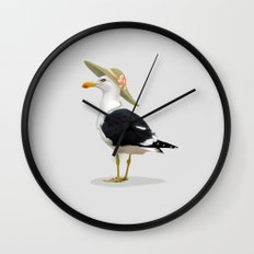 Seagurl Wall Clock