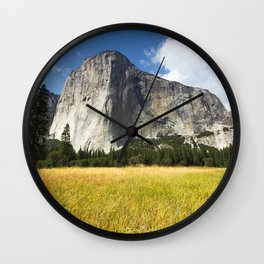 El Capitan Wall Clock
