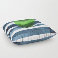 Luna verde Floor Pillow