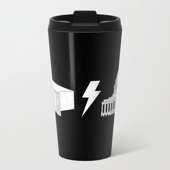 Literal AC/DC Metal Travel Mug