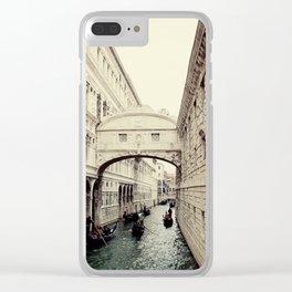 Bridge of Sighs I Clear iPhone Case