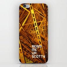 Beam Me Up iPhone & iPod Skin