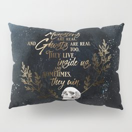 S King - Ghosts & Monsters Pillow Sham