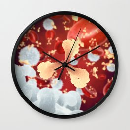 Immune system Wall Clock