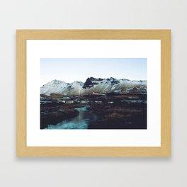 Iceland // Vik Framed Art Print