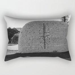 Sculpture in the Garden Rectangular Pillow