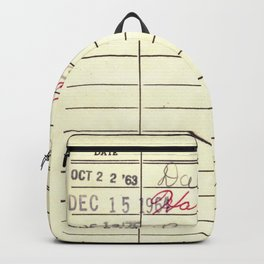LibraryCard 510 Math Without Numbers Backpack