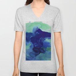 Vellum Watercolor Bliss 2E by Kathy Morton Stanion Unisex V-Neck