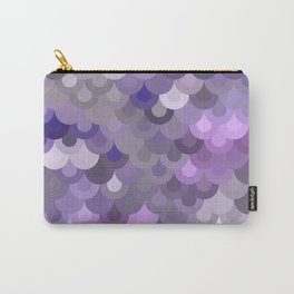 Purple Scales Carry-All Pouch