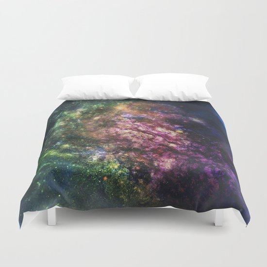 Rainbow Nebula Duvet Cover