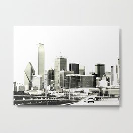 The Dallas storyline Metal Print