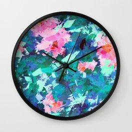 Blossomed Garden Wall Clock