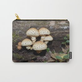 Honey Mushroom Cluster Carry-All Pouch