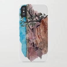 a rip in the earth Slim Case iPhone X