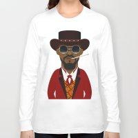 django Long Sleeve T-shirts featuring DJANGO by Capitoni