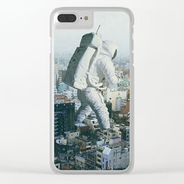 Stepping On Clear iPhone Case