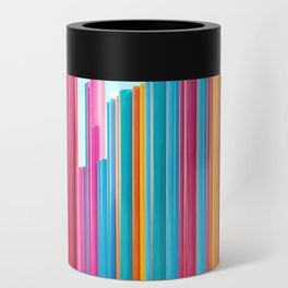 Colorful Rainbow Pipes Can Cooler