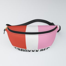 SPEAKERBOXXX RED/THE LOVE BELOW PINK Fanny Pack