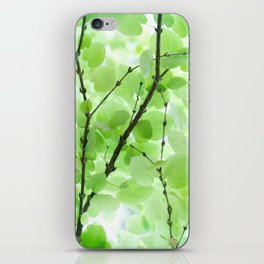 Under the Trees in a Summer Rainstorm  #decor #society6 #buyart iPhone Skin
