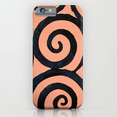 Iron Spirals in Pumpkin Slim Case iPhone 6s