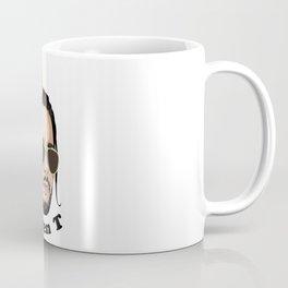 Queen T - Black Text Coffee Mug