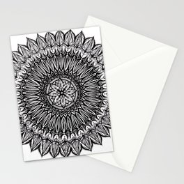 Sinful-Black Stationery Cards