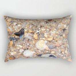 Virginia - Find the Fossil Shark Tooth Rectangular Pillow