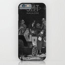 retro noir et blanc Smt Magazine iPhone Case