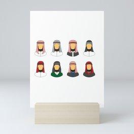 Bedouin Style Mini Art Print