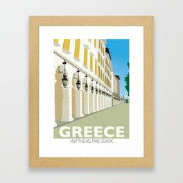 Corfu, Greece Framed Art Print