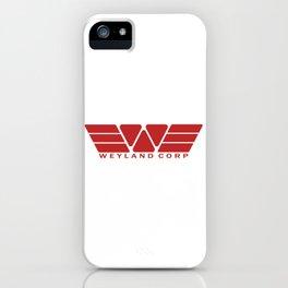 Weyland Corp - Red iPhone Case
