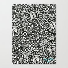 Doily Collection Canvas Print