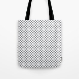Sharkskin Polka Dots Tote Bag