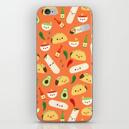 Tacos and Burritos iPhone Skin
