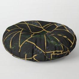 Abstract #438 Floor Pillow