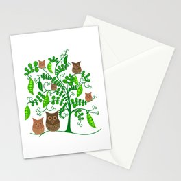 Gardening Owls Stationery Cards