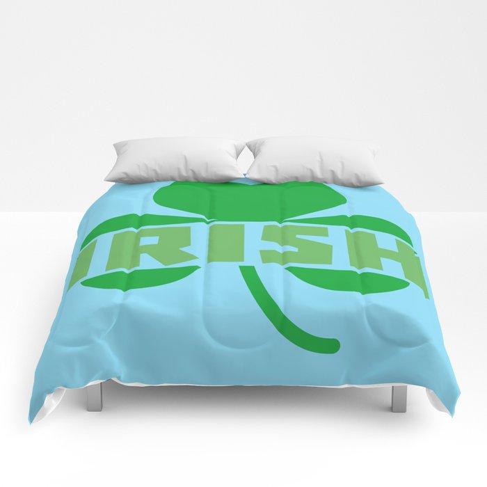 Irish cloverleaf shamrock B9t2d Comforters