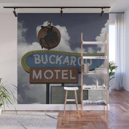 Buckaroo Motel Route 66 Wall Mural