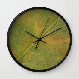 Field of Green #2 Wall Clock