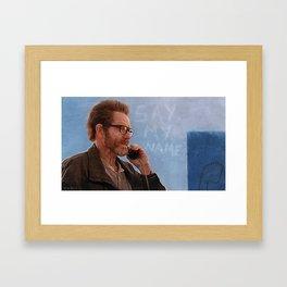 Say My Name - Walter White - Breaking Bad Framed Art Print