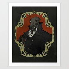 Gentleman Cthulhu Art Print
