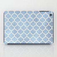 morocco iPad Cases featuring MOROCCO - SLATE by pike design