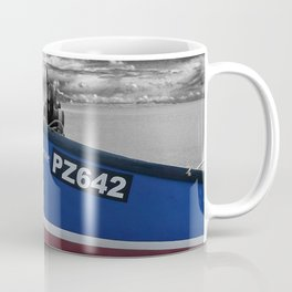Beer beach Jurassic Coast Devon England Coffee Mug