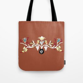 The Red Design Tote Bag