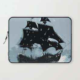 Pirate in Storm Laptop Sleeve