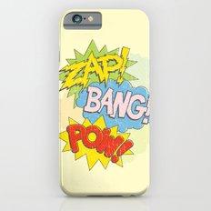Zap! Bang! Pow! iPhone 6s Slim Case