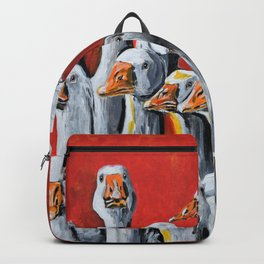 A Giggle Gaggle of Geese Backpack