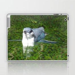 Little Blue Penguin Green Water Laptop & iPad Skin