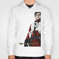 poe Hoodies featuring Poe by KL Design Solutions