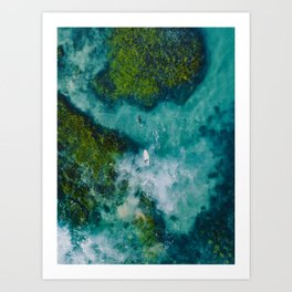 Australian Coast Art Print